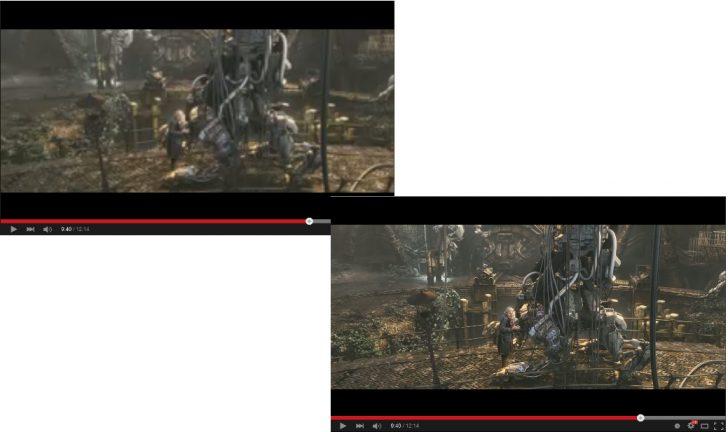 Youtube High Definitionを使ってみた結果の画質