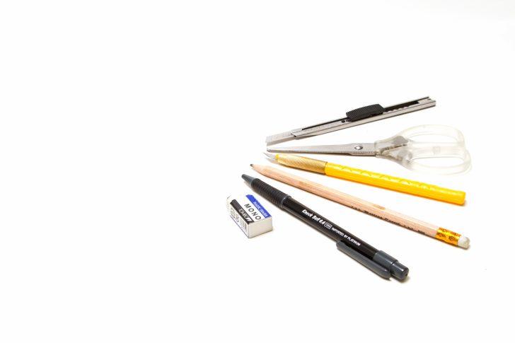 何本かの鉛筆